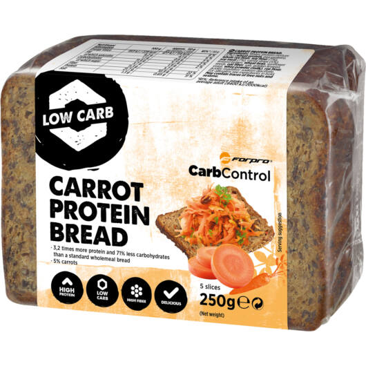 CARROT PROTEIN BREAD - 250 g