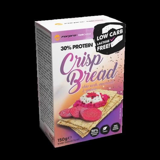 30% PROTEIN CRISP BREAD - CHIA SEEDS, AMARANTH & QUINOA - 150 g