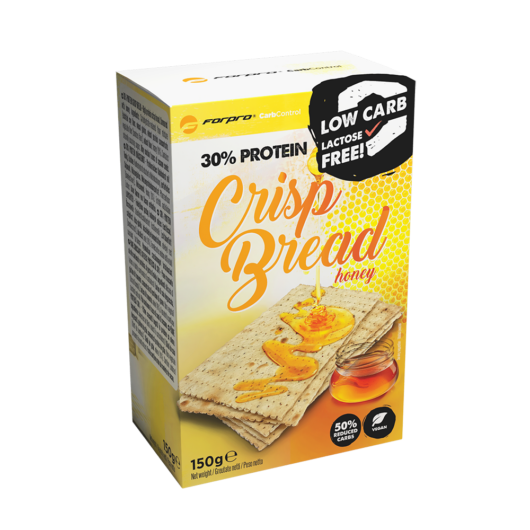 30% PROTEIN CRISP BREAD - HONEY - 150 g