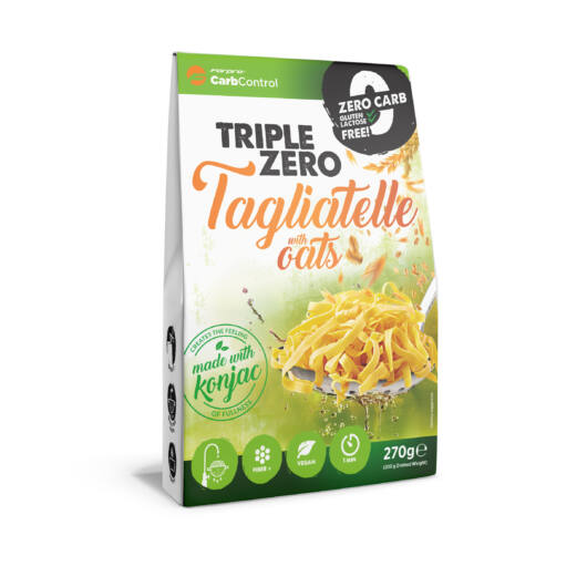 TRIPLE ZERO PASTA - TAGLIATELLE WITH OATS - 270 g