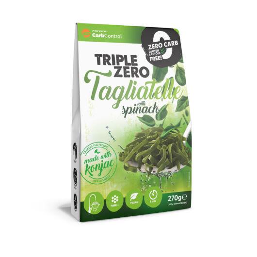 TRIPLE ZERO PASTA - TAGLIATELLE SPINACH - 270 g