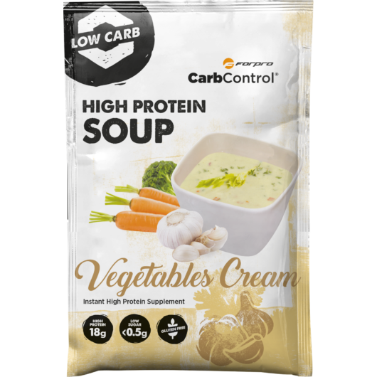 HIGH PROTEIN SOUP -VEGETABLES CREAM - 30,5 g