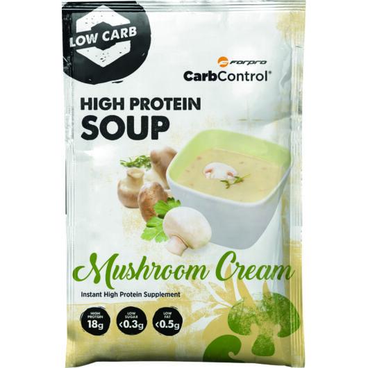 HIGH PROTEIN SOUP - MUSHROOM CREAM - 28 g