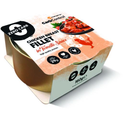 CHICKEN BREAST FILLET - Filetto di pollo in salsa di pomodoro 160g