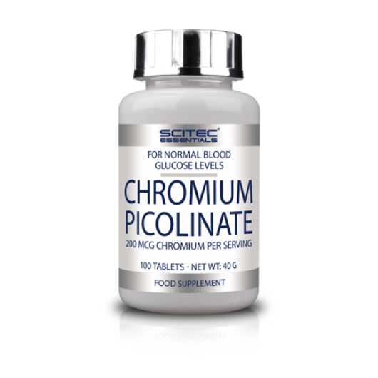 Chromium Picolinate - 100 tablets